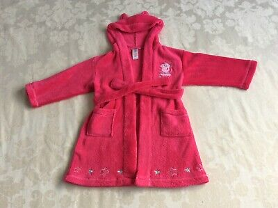 Peppa pig dressing gown 3-4 years pink in great used condition