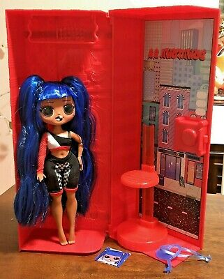 LOL Surprise OMG Ultimate Downtown Girl Doll with Carrying Case & Stand