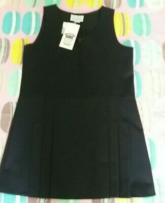 New navy school pinafore size 9/10. From Tru  Form