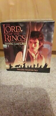 Lord Of The Rings trading card game Deluxe Starter Set brand new and sealed