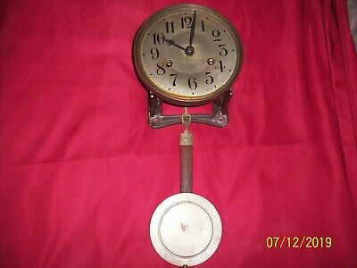 Antique Wall Clock Movement