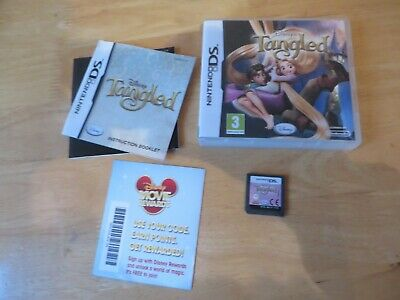 nintendo ds/ds lite/2ds/3ds game.disney tangled.complete