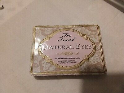 Too faced palette natural eyes