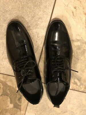 Mens Dress Tuxedo / Formal Round Toe Patent Leather Lace Up Oxfords By AZAR