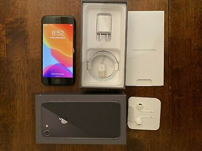 Apple iPhone 8 - 64GB - Space Gray (AT&T only) Great Condition, New Accessories