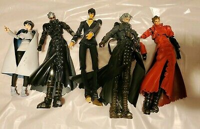 Vash The Stampede, Trigun Anime Characters Figure Lot, Over 90 piece