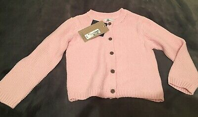 Marks and Spencer girls cotton cardigan 2-3 years BNWT