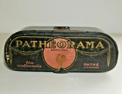 VINTAGE PATHE PATHEORAMA FILM VIEWER RARE C. 1920's FRENCH ART DECO   F618
