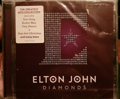 Elton John - Diamonds [New & Sealed] the best of. Stepping into Christmas CD