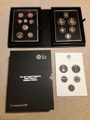 2017 Royal Mint UK Proof Coin Set Collector Edition