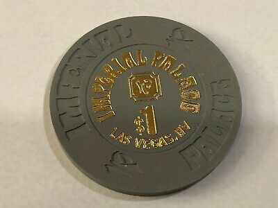$1.00 Imperial Palace  Hotel and  Casino Chip Las Vegas Nevada