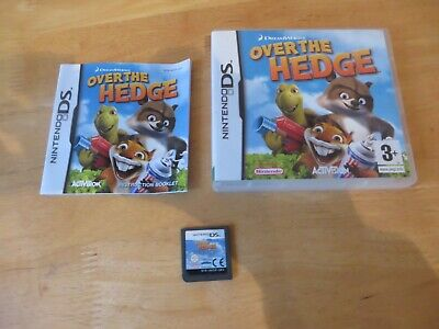 nintendo ds/ds lite/2ds/3ds game.over the hedge.complete