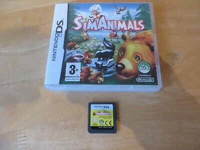 nintendo ds/ds lite/2ds/3ds game.sim animal.no booklets.