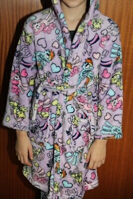 My Little Pony Lilac Dressing Gown age 7-8 years (but still fits a 9 year old!)