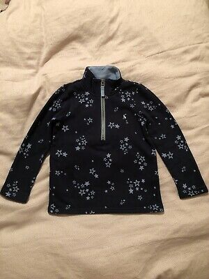 Joules Girls Navy Star Sweatshirt Jumper, Age 4 Years. Immaculate Condition.