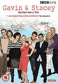Gavin And Stacey - Series 1-2 (BBC DVD Box Set, 2008, 3-Disc Set SEALED)
