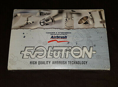 Harder & Steenbeck Evolution Silverline Two in One 2 in 1 Airbrush