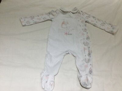 Peter Rabbit sleepsuit age up to 3 months 56-62cm