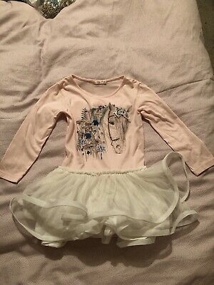 Girls Billieblush Horse Dress. Age 4. Immaculate Condition.