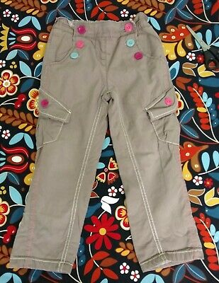 Next Girl Cargo Style Trouser Age  4-5 Year