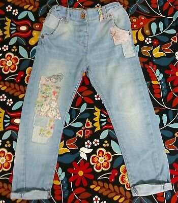 Next Girl Denim Jeans Trousers Age 4-5 Year