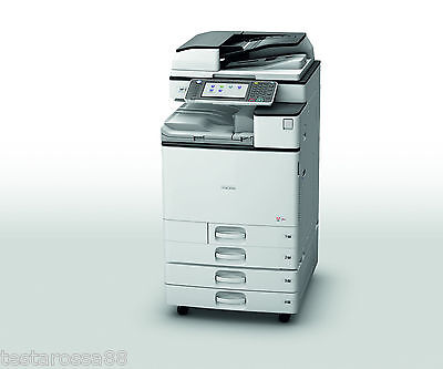 Ricoh MPC3004 Colour Multifunction w Copy Scan Print Great Condition Low Prints