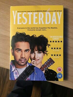 Brand New 'Yesterday' On Dvd Starring Ed Sheeran & Lily James