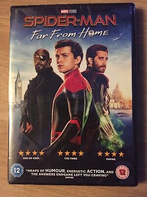 Spider-Man Far From Home Dvd Brand New And Sealed
