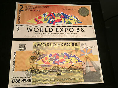1988 World Expo Brisbane Notes