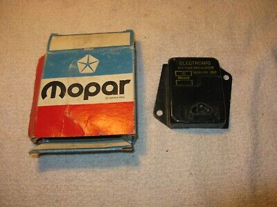 NOS Mopar 1973-74 Yellow Print Volatage Regulator