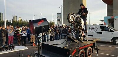 Wheelie Machine Motorcycle Show / Training Business For Sale
