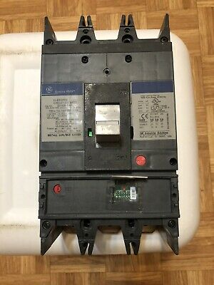 3 POLE 100 AMP 480 VOLT Circuit Breaker GE THED134100 WARRANTY
