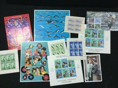 TCStamps HUGE!!!!! Collection of Stamp Souvenir Sheets Worldwide  46