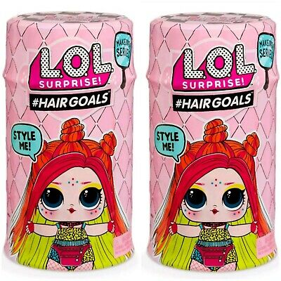 2 LOL Surprise Makeover Series 5 WAVE 2 Hairgoals Dolls NEW 100% AUTHENTIC