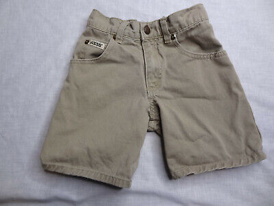 Vintage Baby Guess Brown Denim Shorts 3Y Made in USA