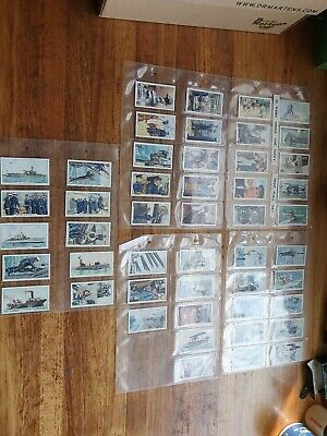 Park Drive The Navy 1937 full set military cigarette cards great condition