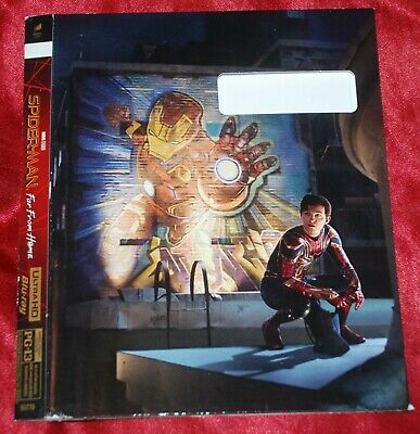 UHD SLIPCOVER - FITS Spider-man Far from Home UHD Ed -SLIPCOVER ONLY no discs