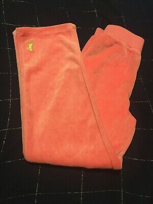 NWOT Juicy Couture Girls Velour HOT PINK Sweatpants Pants Sz 5