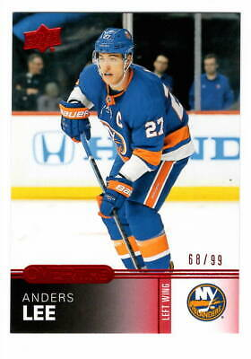 2015-16 Upper Deck Overtime Red #158 Anders Lee