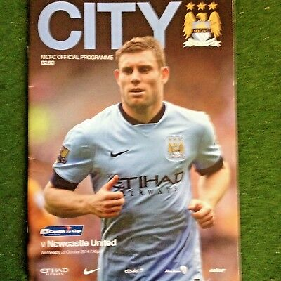 Manchester City V  Newcastle United L League Cup  2014/2015