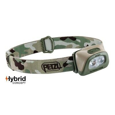 Petzl Tactikka + Rgb Led Headlamp Red / White Led 350Lm Hybrid Concept Ipx4