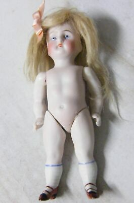 Kestner #130 All Bisque Antique Doll Mignonette German.