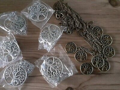Joblot wholesale clearance x 14 tree of life necklaces