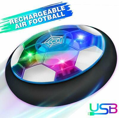 Kids Toys Hover Soccer Ball Gifts Age 3-12 Years Rechargeable Air Power Football