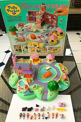Vintage Polly Pocket Dream World  complete Boxed 1991 bluebird Excellent