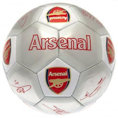 Arsenal FC Football Signature SV Size 5 Metallic Finish Christmas Birthday Gift