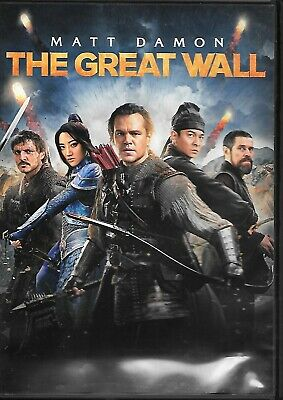The Great Wall (DVD & DIGITAL COPY) Action Creature Feature!