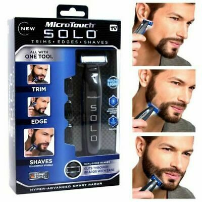 Micro Touch SOLO Rechargeable Full Body Trimmer and Shaver - Black