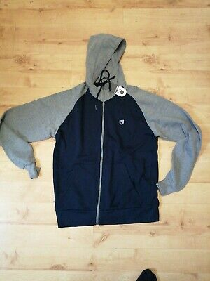 Unsung Hero Kitty Fail Full Zip Hoody Mens Hooded Jumper Grey UHST0552 A5C