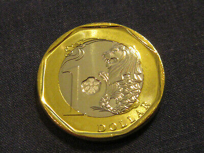 1974 Singapore coin  Merlion Coin Mythical Lion   Uncirculated beauty